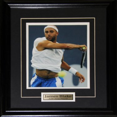 James Blake Tennis 8x10 frame