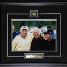 Jack Nicklaus Arnold Palmer & Gary Player 8x10 frame