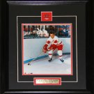 Gordie Howe Detroit Red Wings 8x10 frame