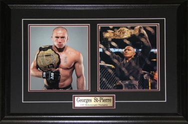 Georges St-Pierre UFC Champion 2 photo Frame