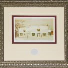 Fresh Snow Waterdown 1957 artist print frame