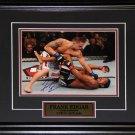 Frank Edgar UFC signed 8x10 frame