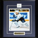Doug Gilmour Toronto Maple Leafs signed 8x10 frame