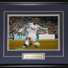 David Beckham Soccer 8x10 frame