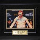 Chris Leben UFC signed 8x10 frame
