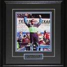 Carl Edwards Nascar signed 8x10 frame