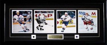Wayne Gretzky Career Photographs Frame