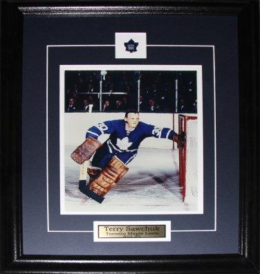 Terry Sawchuk Toronto Maple Leafs 8x10 frame