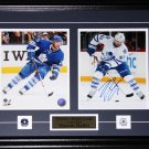 Nazem Kadri Toronto Maple Leafs signed 2 photo frame