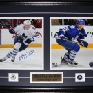 Matt Frattin Toronto Maple Leafs signed 2 photo frame