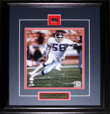 Lawrence Taylor New York Giants 8x10 frame