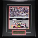 Jeff Gordon Nascar signed 8x10 frame