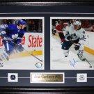 Jake Gardiner Toronto Maple Leafs signed 2 photo frame
