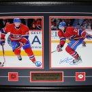 Alex Galchenyuk Montreal Canadiens signed 2 photo frame