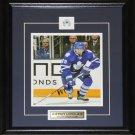 Joffrey Lupul Toronto Maple Leafs signed 8x10 frame
