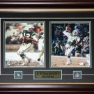 Joe Namath New York Jets 2 photo signed frame