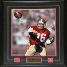Joe Montana San Francisco 49ers Signed 16x20 frame