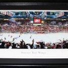 Detroit Red Wings Joe Louis Arena Panorama Frame