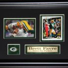 Brett Favre Green Bay Packers 2 Card frame