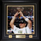 Aaron Rodgers Green Bay Packers Signed 16x20 frame