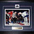 Maple Leafs Gardens Last Game Gilmour Vs. Sundin 8x10 frame