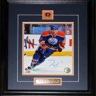 Jordan Eberle Edmonton Oilers signed 8x10 frame
