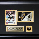 Milan Lucic Boston Bruins 2 Card frame