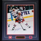 Mark Messier New York Rangers Signed 16x20 frame