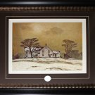 March Morning - 1957 Canada art frame