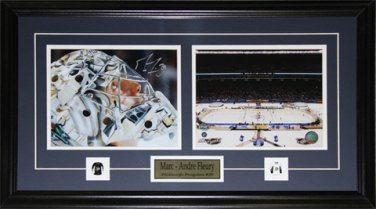 Marc-Andre Fleury Pittsburgh Penguins Winter Classic Signed Frame