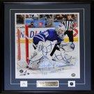 Jonas Gustavsson Toronto Maple Leafs Signed 16x20 frame