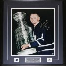 Johnny Bower Toronto Maple Leafs Signed 16x20 Frame
