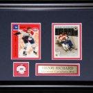 Henri Richard Montreal Canadiens 2 Card Frame