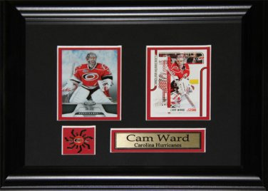 Cam Ward Carolina Hurricanes 2 Card frame