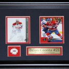 Brian Gionta Montreal Canadiens 2 Card frame