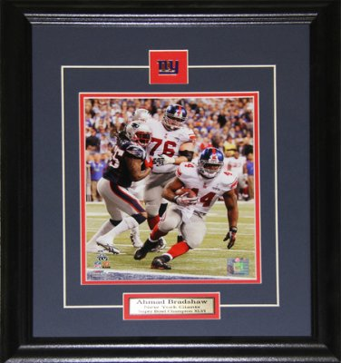 Ahmed Bradshaw New York Giants Superbowl 8x10 frame