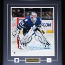 James Reimer Toronto Maple Leafs Signed 16x20 Frame