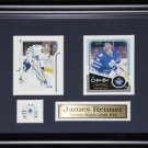 James Reimer Toronto Maple Leafs 2 Card frame