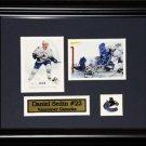 Daniel Sedin Vancouver Canucks 2 Card Frame
