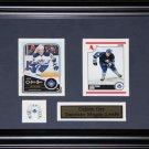 Colton Orr Toronto Maple Leafs 2 card frame