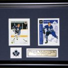 Frank Mahovlich Toronto Maple Leafs 2 Card frame