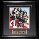 Kiss Rock Band 8x10 frame