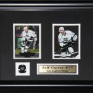 Jeff Carter Los Angeles Kings 2 card frame