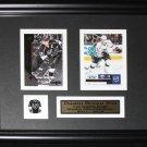 Dustin Brown Los Angeles Kings 2 card frame