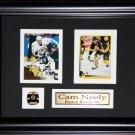 Cam Neely Boston Bruins 2 card  frame