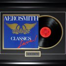 Aerosmith music album record frame