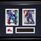 Peter Forsberg Quebec Nordiques NHL 2 card frame