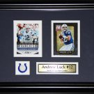 Andrew Luck Indianapolis Colts 2 card frame