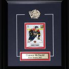 Connor McDavid Erie Otters Single Card Frame