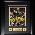 Aaron Rodgers Green Bay Packers signed 8x10 frame
